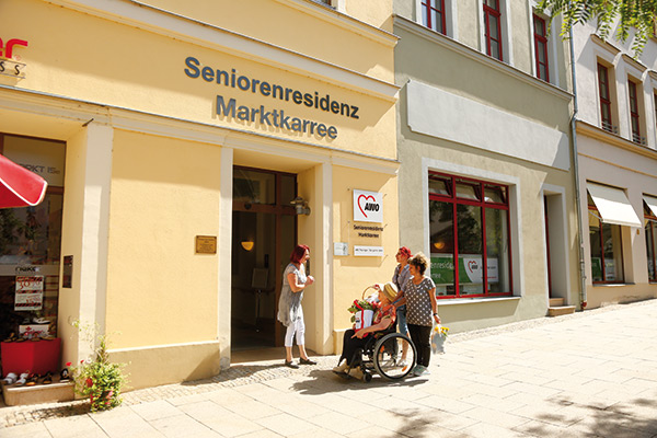 Die Seniorenresidenz Marktkarree in Gera